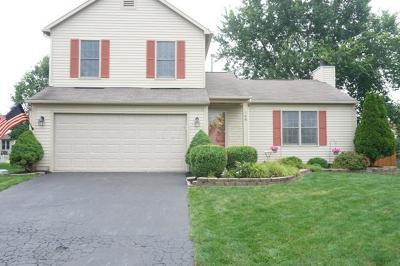 Reynoldsburg Single Family Home Contingent Finance And Inspect: 708 Moreno Drive