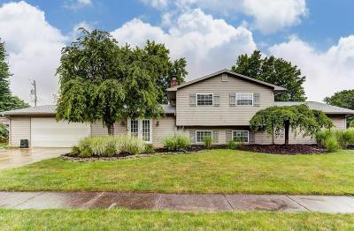 Gahanna Single Family Home Contingent Finance And Inspect: 164 Regal Place