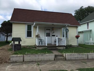 Circleville OH Single Family Home For Sale: $82,800