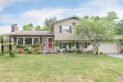 Worthington Single Family Home Contingent Finance And Inspect: 155 W Dublin Granville Road