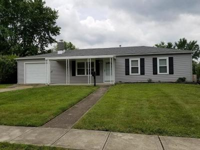 Reynoldsburg Single Family Home Contingent Finance And Inspect: 7437 Smithfield Avenue