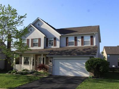 Hilliard Single Family Home Contingent Finance And Inspect: 2848 Wynneleaf Street