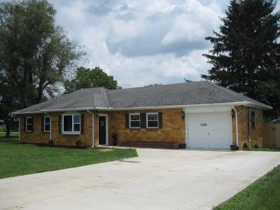 Circleville OH Single Family Home Contingent Finance And Inspect: $159,900
