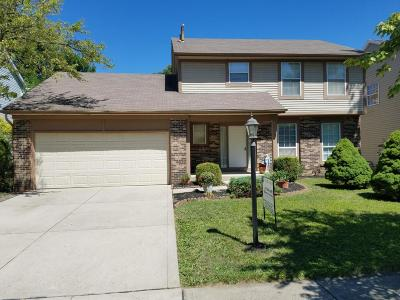 Dublin Single Family Home Contingent Finance And Inspect: 7456 Gardengate Place