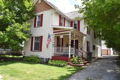 Single Family Home Contingent Finance And Inspect: 71 E Coshocton Street