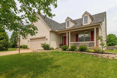 Canal Winchester Single Family Home Contingent Finance And Inspect: 8816 Creekwood Drive