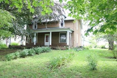 Mount Vernon Single Family Home Contingent Finance And Inspect: 9908 Old Delaware Road