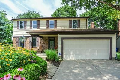 Dublin Single Family Home Contingent Finance And Inspect: 5023 Grassland Drive