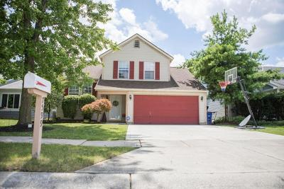 Pickerington Single Family Home Contingent Finance And Inspect: 7599 Sun Valley Court