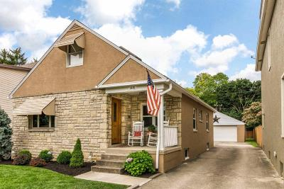 Single Family Home Contingent Finance And Inspect: 1481 Glenn Avenue