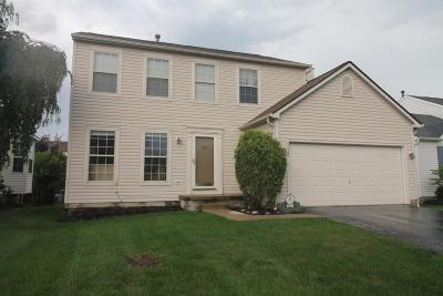 Hilliard Single Family Home Contingent Finance And Inspect: 5022 Gilwood Drive