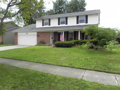 Reynoldsburg Single Family Home Contingent Finance And Inspect: 6897 Roundelay Road N