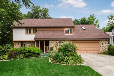 Gahanna Single Family Home Contingent Finance And Inspect: 633 Sycamore Mill Drive