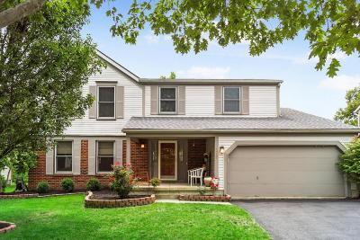 Dublin Single Family Home Contingent Finance And Inspect: 5717 Clearfield Lane