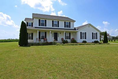 Circleville OH Single Family Home Contingent Finance And Inspect: $250,000
