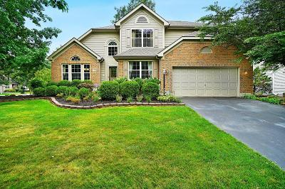 Dublin Single Family Home Contingent Finance And Inspect: 7579 Tullymore Drive