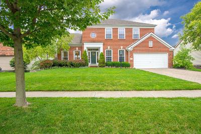 Hilliard Single Family Home Contingent Finance And Inspect: 5072 Britton Farms Drive