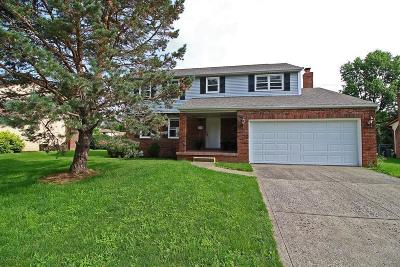 Reynoldsburg Single Family Home Contingent Finance And Inspect: 6440 Rugosa Avenue