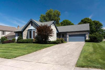 Dublin Single Family Home Contingent Finance And Inspect: 5590 Old Pond Drive