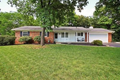 Grove City Single Family Home Contingent Finance And Inspect: 2152 Berry Hill Drive