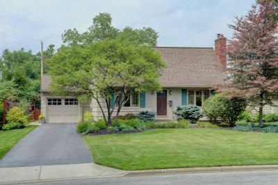 Upper Arlington Single Family Home Contingent Finance And Inspect: 2314 Woodstock Road