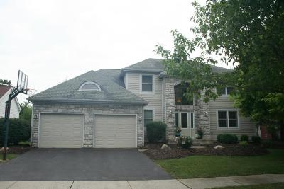 Dublin Single Family Home Contingent Finance And Inspect: 7725 Ardaugh Court