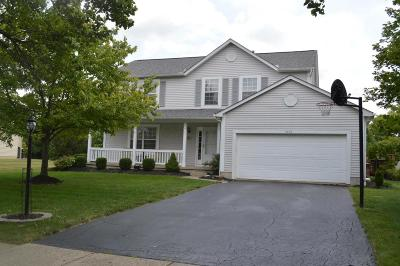 Grove City Single Family Home Contingent Finance And Inspect: 5492 Meadow Grove Drive