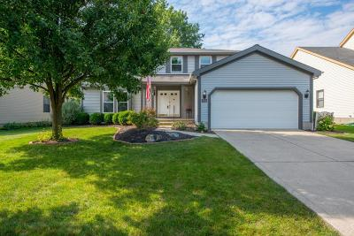 Westerville Single Family Home Contingent Finance And Inspect: 677 Ozem Gardner Way