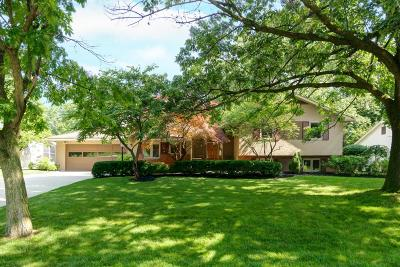 Upper Arlington Single Family Home Contingent Finance And Inspect: 1376 Kingsgate Road