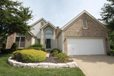 Reynoldsburg Single Family Home Contingent Finance And Inspect: 850 Campanula Court