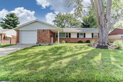 Reynoldsburg Single Family Home Contingent Finance And Inspect: 1596 Marvin Drive