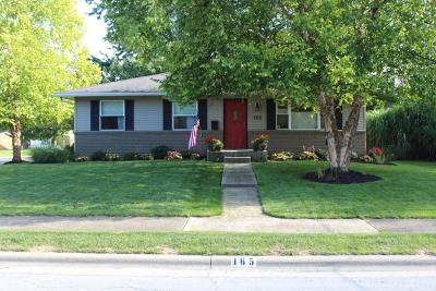 Single Family Home Contingent Finance And Inspect: 165 Cherokee Drive