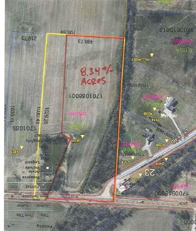 Centerburg Residential Lots & Land Contingent Finance And Inspect: Columbus Road
