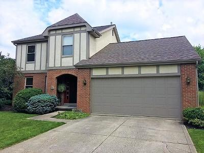 Hilliard Single Family Home Contingent Finance And Inspect: 4858 Brixston Drive