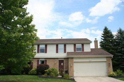 Dublin Single Family Home Contingent Finance And Inspect: 5838 Tara Hill Drive