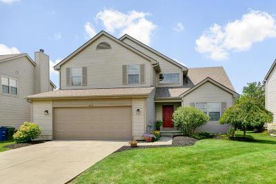 Hilliard Single Family Home Contingent Finance And Inspect: 3219 Tollcross Drive