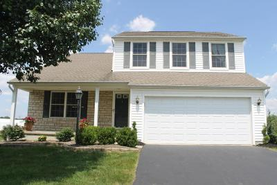 Pickerington Single Family Home Contingent Finance And Inspect: 8378 Alderpoint Terrace
