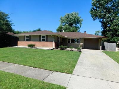 Reynoldsburg Single Family Home Contingent Finance And Inspect: 1629 Parkinson Drive