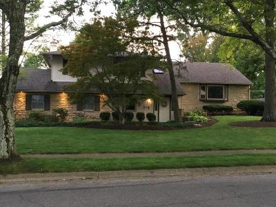Upper Arlington Single Family Home Contingent Finance And Inspect: 4371 Lyon Drive