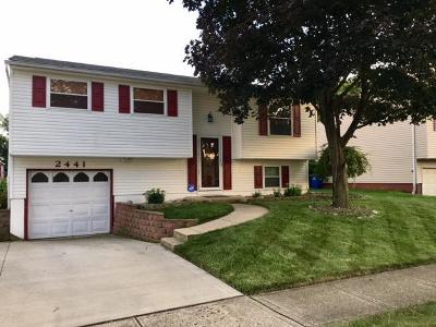 Grove City Single Family Home Contingent Finance And Inspect: 2441 Blue Rock Boulevard