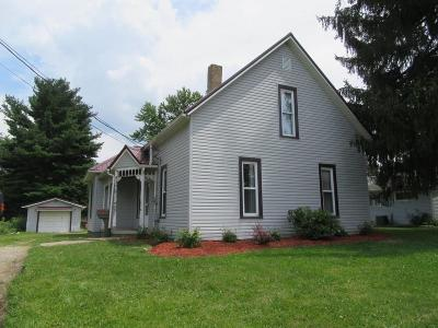 Mount Vernon OH Single Family Home For Sale: $99,700