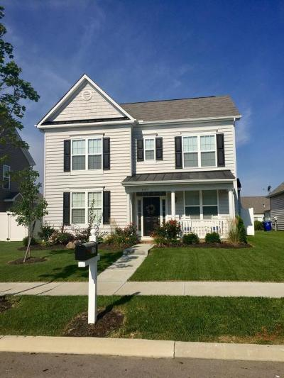 Dublin Single Family Home Contingent Finance And Inspect: 5157 Wildcat Falls Drive