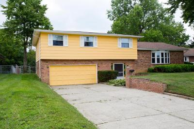 Single Family Home For Sale: 859 Meadowview Drive