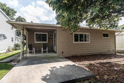 Single Family Home Contingent Finance And Inspect: 4314 Scenic Drive