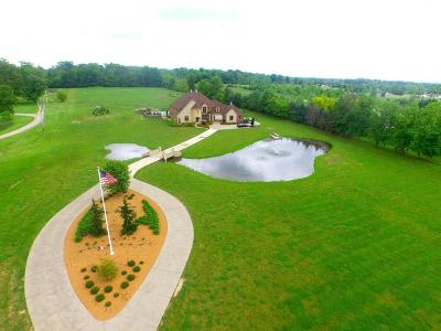 Pickerington Single Family Home Contingent Finance And Inspect: 13730 Tollgate Road