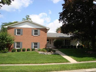 Columbus Single Family Home For Sale: 1850 Brandywine Drive