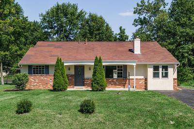 Reynoldsburg Single Family Home Contingent Finance And Inspect: 388 N Summit Ridge Road SW