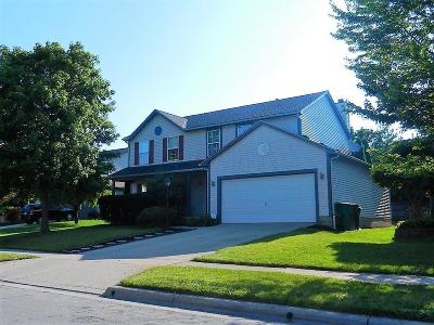 Single Family Home For Sale: 6040 Abbey Church Road