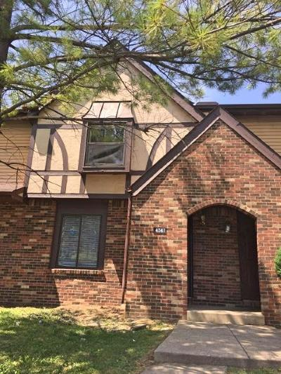 Single Family Home Contingent Finance And Inspect: 4347 Apley Place