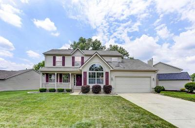 Reynoldsburg Single Family Home Contingent Finance And Inspect: 2149 Wagontrail Drive
